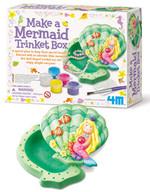 4M Make A Mermaid Trinket Box/ Deniz Kızı Mücevher Kutusu - 2740