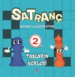 Satranç Boyama Kitabı 2