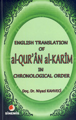 English Translation of al-QUR'ÂN al KARÎM in Chronological Order