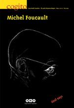 Cogito Sayı 70-71 - Michel Foucault 2012