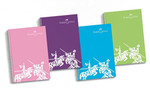 Faber-Castell Pp Kapak 5 Bölmeli Renkli Kenar Çizgi Defter, 200 Yaprak - 5075400181