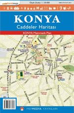 Konya Caddeler Haritası