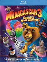 Madagascar 3: Europe's Most Wanted 2 Disk BD- Madagaskar 3: Avrupa'nin En Çok Arananlari