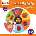 Yuvarlak Puzzle-Meyveler
