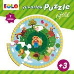 Yuvarlak Puzzle - Çiftlik