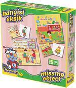 Kirkpabuç Magazalar - Hangisi Eksik Kutu Oyunu (Karton) 7306