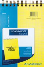 Mead Cambridge Kareli Bloknot A5 70 Yaprak Sarı