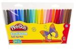 Play-Doh 24 Renk Keçeli Kalem Pvc 2Mm PLAY-KE006