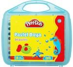 Play-Doh 18 Renk Pastel Boya Plastik Çantalı PLAY-PA010