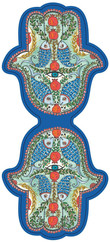 Galeri Alfa Fatma'nin Eli Kitap Ayraci - Balik, Nar ve Göz (Lacivert) 2030109