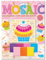 4M Mosaic Colourful Cupcake Delights 3640