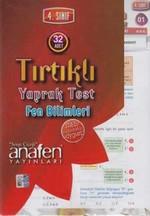 Anafen 4.Sınıf Fen Bilimleri Tırtıklı Yaprak Test (32 Yaprak)