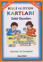 Bilgi ve Oyun Kartları Zeka Oyunları Sorular ve Cevaplar