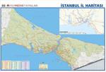 İstanbul İl Duvar Haritası