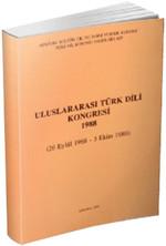 Uluslararası Türk Dili Kongresi 1988