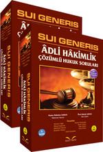 Sui Generis - Adli Hakimlik Hukuk Soruları (2 Cilt Takım)