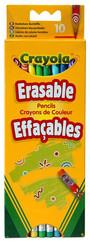 Crayola 10 Silinebilir Kuru Boya Kalemi (3635)