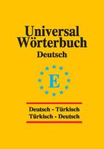 Universal Sözlük  Almanca Türkçe - Türkçe Almanca
