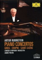 Piano Concertos Grieg, Chopin, Saint-Saens [London Symphony Orchestra Andre Previn]