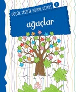 Ağaçlar-Küçük Kaşifin Boyama Kitabı