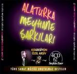 Alaturka Meyhane Şarkıları Yeni Koleksiyon Arşiv-2 4 CD BOX SET