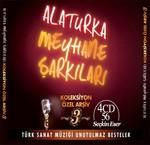 Alaturka Meyhane Şarkıları Yeni Koleksiyon Arşiv-3 4 CD BOX SET