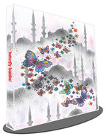 Galeri Alfa 3010001 Butterfly İstanbul Defter