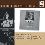 Idil Biret:Archive Edition 13 Brahms Variations