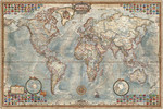 Educa Puzzle Political Map Of The World 16005 1500'lük