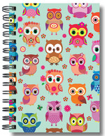 Defter Lovely Happy Owls - 64186-4