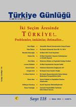 Türkiye Günlüğü Sayı: 118