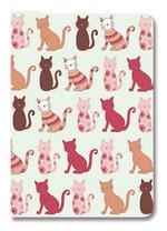 Deffter Design Seri 14,5x21 - Decorative Cats