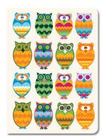 Deffter Design Seri 18,5*25 - Surprised Owls
