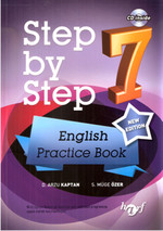 Harf Step By Step 7.Sınıf  English Pratice Book Cd İnside
