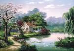 Anatolian Küçük Bahçe Köşkü / Arbor Cottage 260 Parça 3304