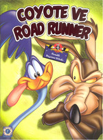 Coyoto ve Road Runner - Örnekli Boyama Kitabı