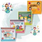 Çocuklar İçin Zeka Geliştiren Oyunlar - 4 Kitap Takım
