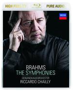 Brahms: The Symphonies [Audio Bluray] [Gewandhausorchester]