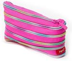 Zip-it Strawberry Pink & Rainbow Teeth