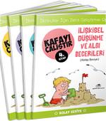 Kafayı Çalıştır Seti (Kolay Seviye) - 4 Kitap Takım