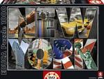 Educa Puzzle New York Collage 16288 1000 Parça