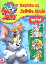 Tom ve Jerry Boyama ve Aktivite Kitabı