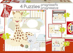 Educa Puzzle Çocuk Progresive 15491 Sophie grafe