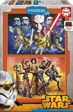 Educa-Puz.2X100 Star Wars Rebels 16