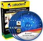 DGS Sayısal ve Sözel Mantık Çözümlü Soru Bankası Seti 10 DVD