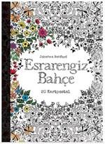 Esrarengiz Bahçe Kartpostal Kitabı