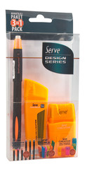 Serve Creative 3'lü Set 0.7 Turuncu