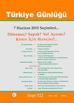 Türkiye Günlüğü Sayı :122