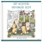 Art Nouveau  Hayvanlar Alemi Boyama Kitabı