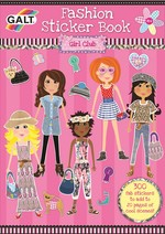 Galt Fashion Sticker Book 4 Yas+ 1004027